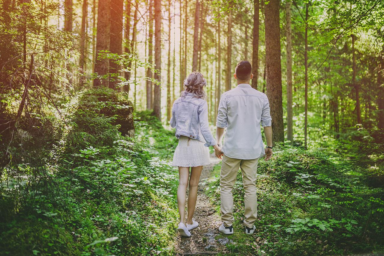 Andro und Andra Paarshooting Pre- Hochzeitsvideo am Eibsee Garmisch-Partenkirchen