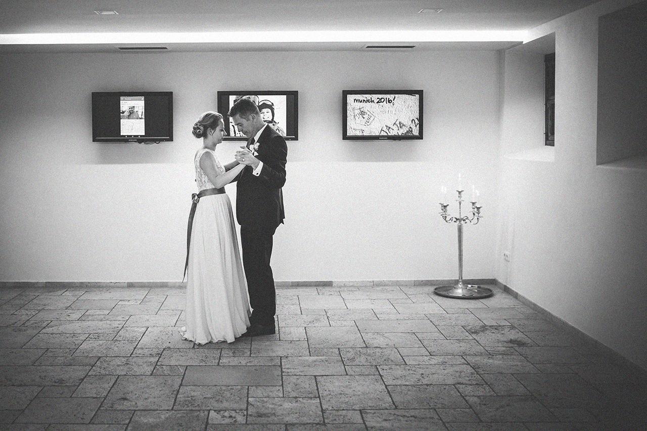Ina und Jens Hochzeit Feier Tanz