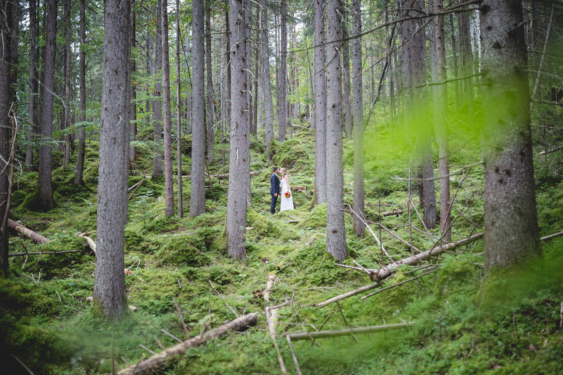 Hochzeitsfotograf Hochzeitsfoto Hochzeit Allyson und Robert am Eibsee in Garmisch-Partenkirchen