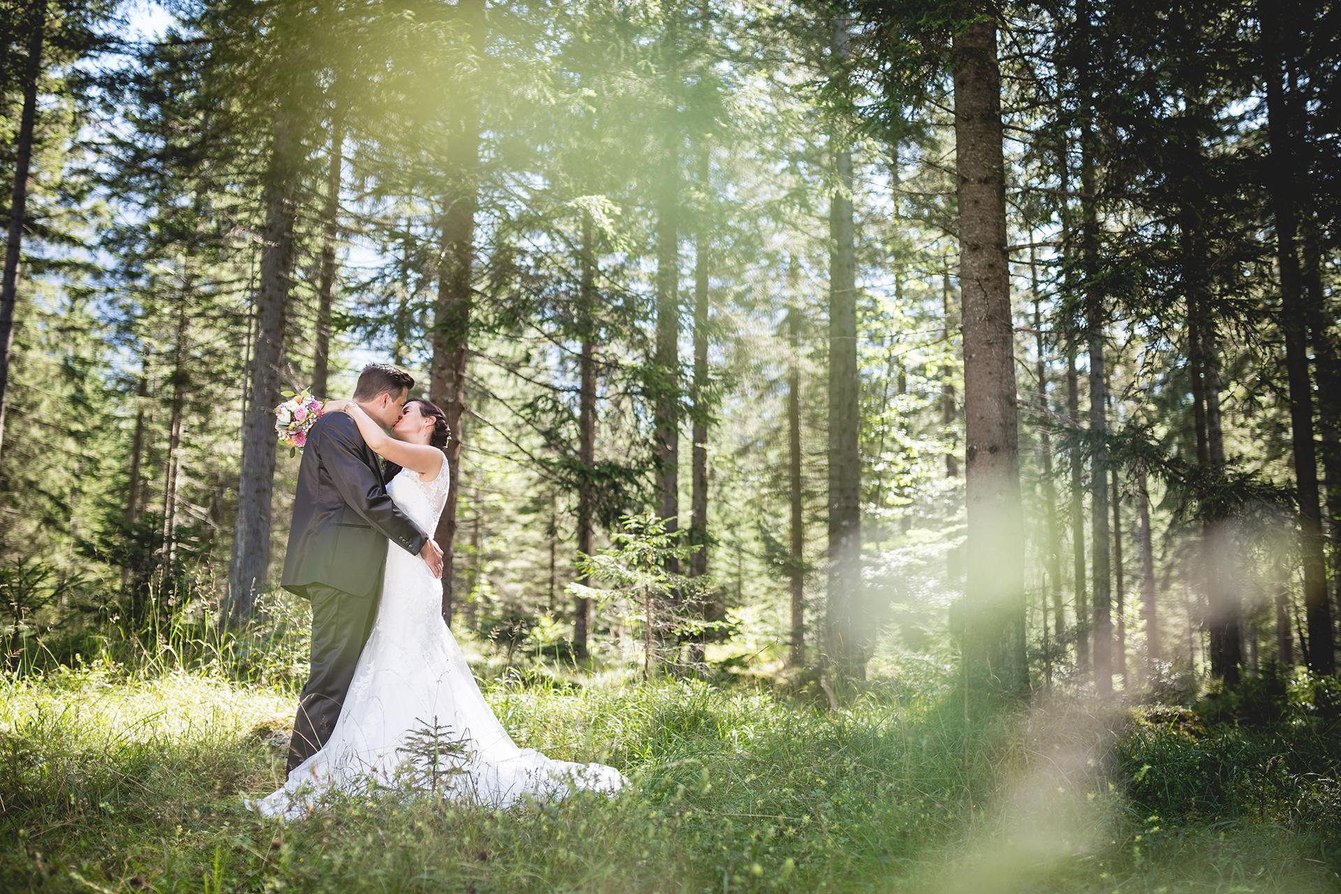 Hochzeitsfoto von Stefanie und Rene aus Ehrwald vom Hochzeitsfotograf