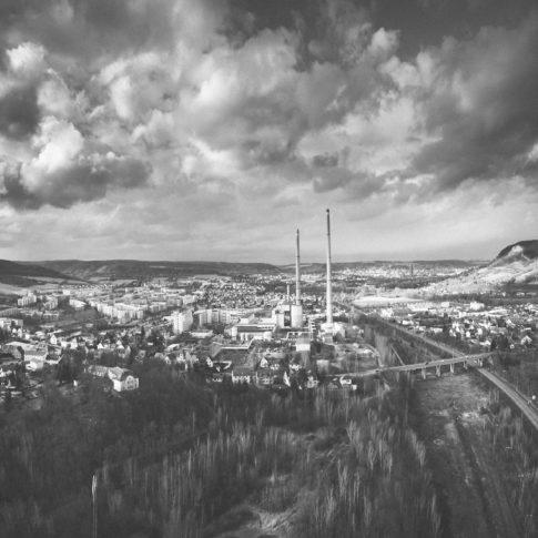 Luftbild Luftaufnahme Jena Winzerla